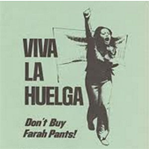 Poster for Farah Pants boycott