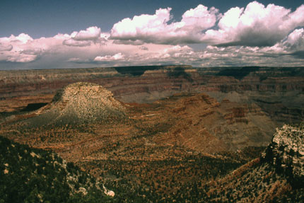 View of Grand Canyon from South Bass Trailhead, Grand Canyon National Park