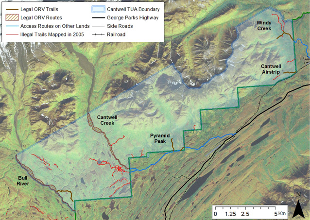 Monitoring OffRoad Vehicle Use in a Subsistence Hunting Area US