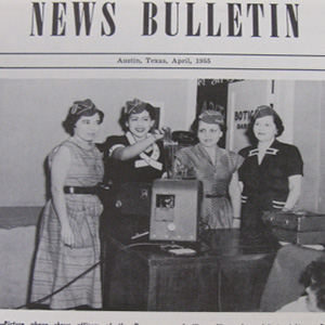 image of Latino women pursuing science in the 1940s