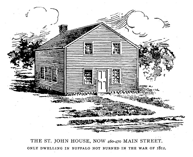The Margaret St. John house