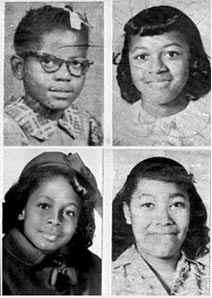 school photograph of 4 girls