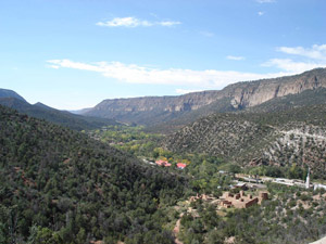 Giusewa Pueblo is situated in the San Diego Canyon
