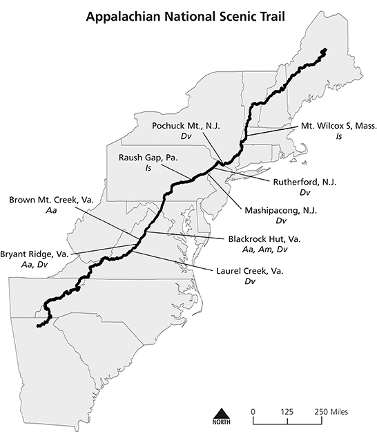 Tick surveillance and disease prevention on the Appalachian Trail ...