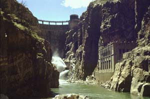 Photo of Buffalo Bill Dam