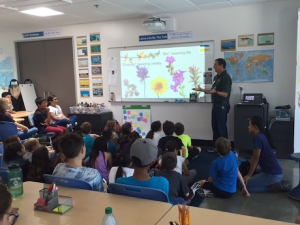 Cabrillo educators instructing students in classroom