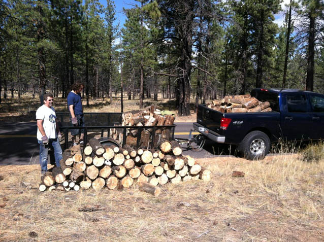 Bryce Canyon Firewood Project