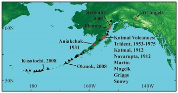 Volcanic Earthquakes in Alaska\'s National Parks (U.S. National Park ...