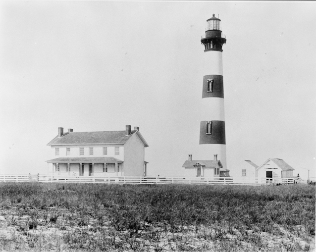Image of Bodie Island Light Station, 1893