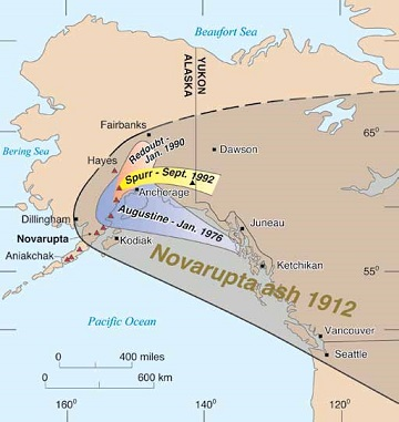 Alaska Map Volcano.Concluding Thoughts Can Another Great Volcanic Eruption Happen In