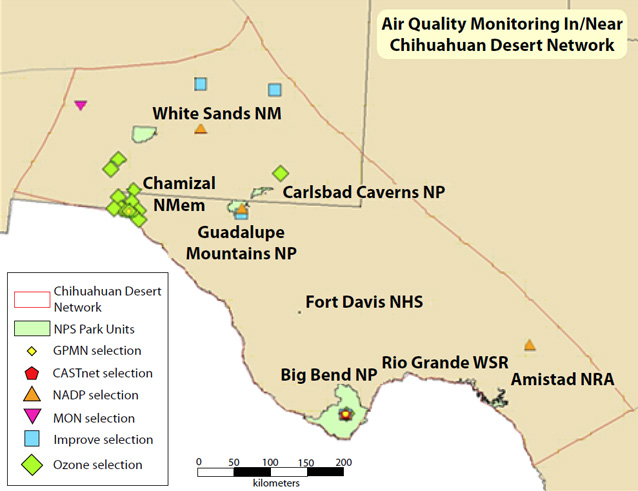 Air Quality in the Chihuahuan Desert (U.S. National Park Service)