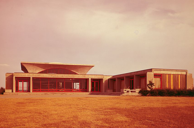 Visitor center, 1960s