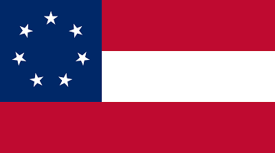 The first official flag of the Confederate States of America
