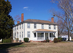 Four Square plantation home