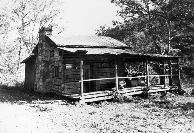 Armpstead Blevins/John Litton Cabin - late 20th century (P.C.C. Farmstead: CLI, NPS, 1998)