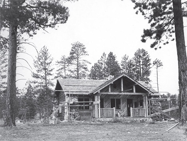 Ranger Station/Residence, 1929 (Old NPS Housing Historic District: CLI, NPS, 2010)