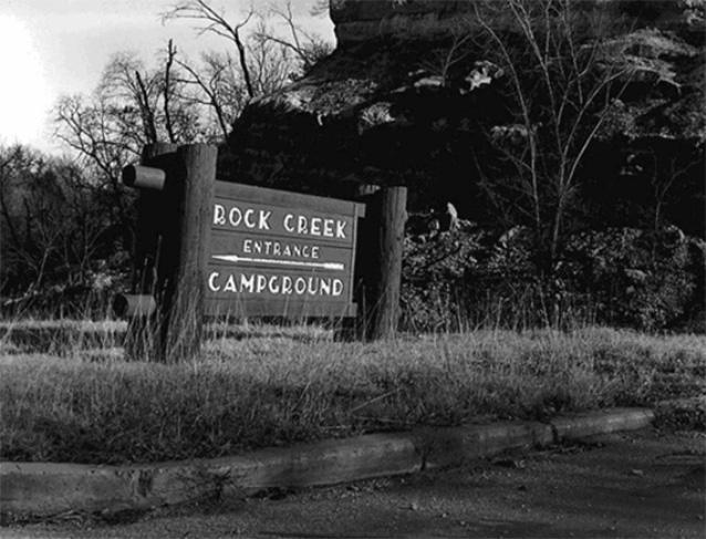 Rock Creek Campground sign (Rock Creek Campground: CLI, NPS, 2007)
