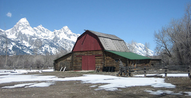Barn, corral, and chicken coop, 2010 (C. Mardorf, NPS)
