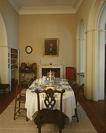 Arlington house the robert e lee memorial u s national for U s senate dining room