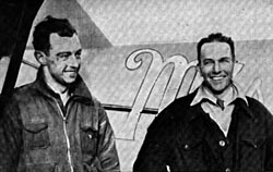 Clyde Pangborn and Hugh Herndon