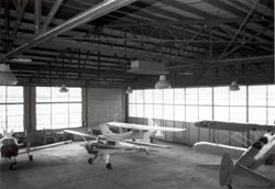 Interior of Hangar