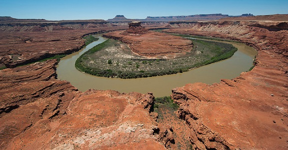 Green River Oxbow in Canyonlands National Park