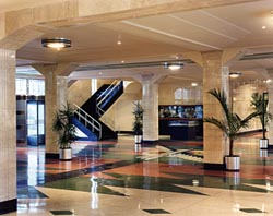Restored Art Deco lobby of the Adminstration Building