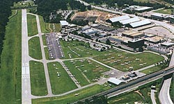 Aerial view of College Park Airport