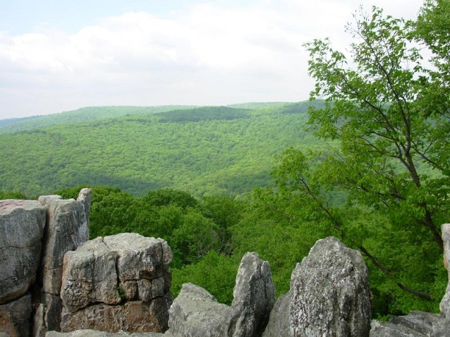 Chimney Rock in Catoctin Mountain Park