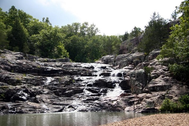Rocky Falls in Ozark National Scenic Riverway