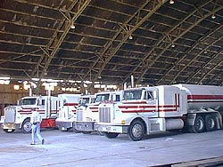 Interior of B-52 Hangar, Wendover Air Force Base