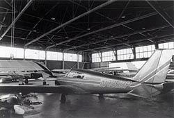 Airplane in Hangar #1