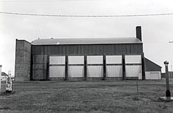 Hangar South Side
