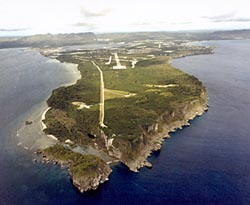 Orote Peninsula with Orote Airfield