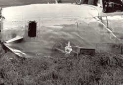 Atka B-24 Liberator-front section showing special design features