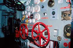 Interior of USS Lexington