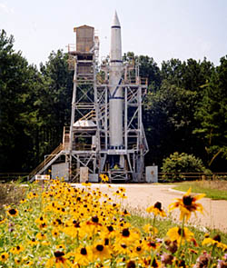 View of the Redstone Test Stand