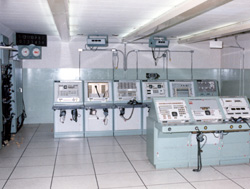 Interior of Launch Control Center