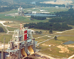 Rocket Propulsion Test Complex-In the foreground is the center's largest Test Stand the B-1