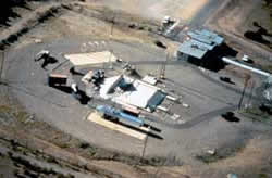 Aerial view of Air Force Facility Missile Site 8