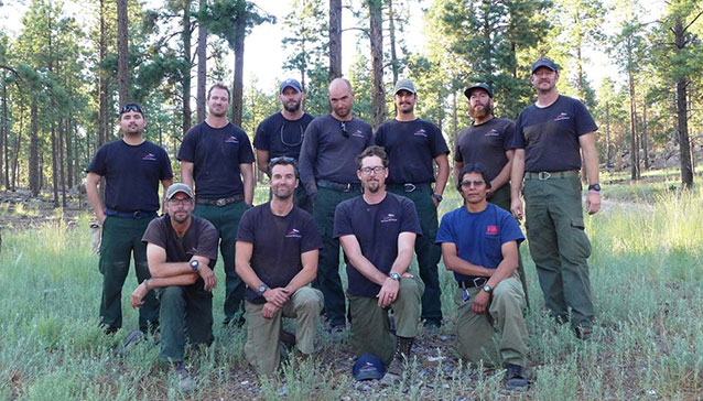 Wildland Fire Module group photo