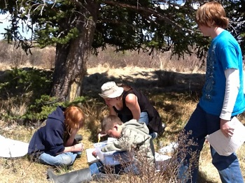 Students help monitor water quality