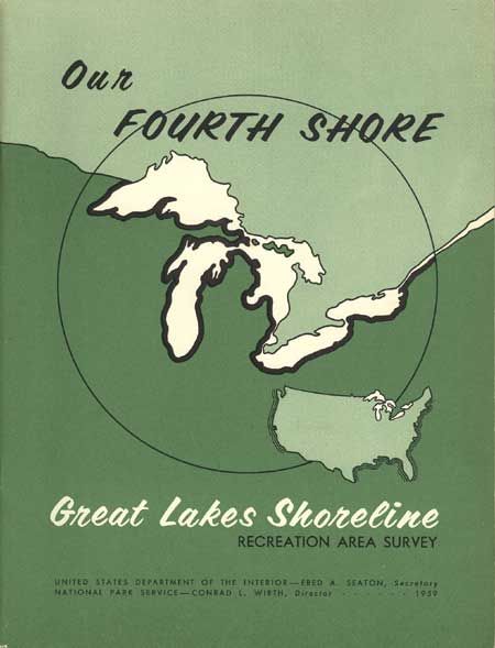 Report cover for Our Fourth Shore.