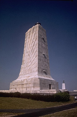 Wright Brothers National Memorial atop Kill Devil Hill