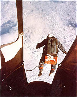 Joseph Kittinger's high-altitude jump