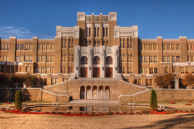 Exterior of Little Rock Central High School, completed in 1927