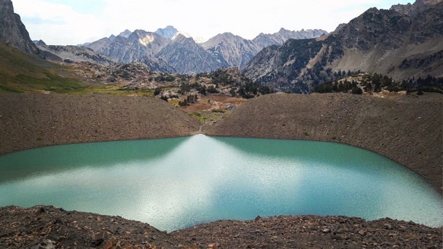 The Little Ice Age moraine (late 1800s) of Schoolroom Glacier (Grand Teton National Park, WY)