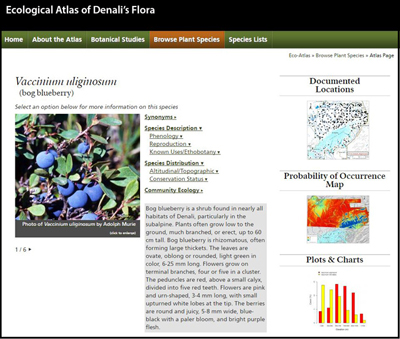 a screenshot of the ecological atlas