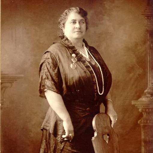 Studio portrait of Maggie L. Walker