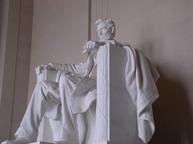 """Abraham Lincoln"" by Daniel Chester French"